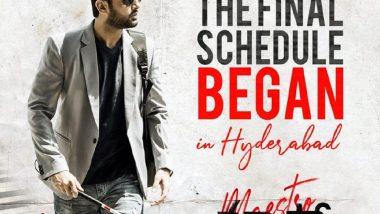 Nithiin's Maestro Shoot Begins In Hyderabad; It's The Remake Of Ayushmann Khurrana-Tabu's Andhadhun