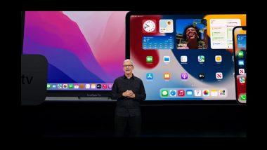 Apple WWDC 2021 LIVE Updates: iOS 15, iPadOS 15, macOS Monterey & watchOS 8 Announced
