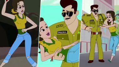 Sonakshi Sinha Birthday: Arbaaz Khan Wishes the Actress in Dabangg Style (Watch Video)