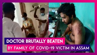 Assam: Doctor Brutally Beaten By Relatives Of Covid-19 Patient Who Died Allegedly Due To Oxygen Shortage
