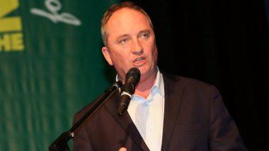 Australian Deputy PM Barnaby Joyce Fined for Not Wearing Mask