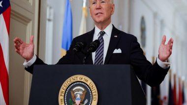 US President Joe Biden Administration to Buy 500 Million Pfizer's COVID-19 Vaccine to Donate the World: Report