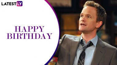 Neil Patrick Harris Birthday Special: 11 Quirky Quotes of How I Met Your Mother's Barney Stinson That Make for Legendary T-Shirt Slogans (LatestLY Exclusive)