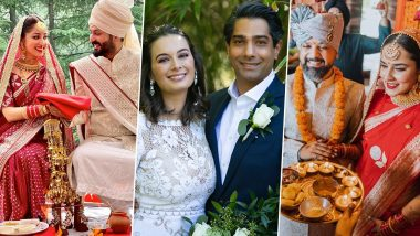 From Yami Gautam to Angira Dhar – Bollywood Actresses Who Got Married In 2021 (View Pics)