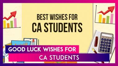Chartered Accountants' Day 2021 Greetings for CA Aspirants: Send Best Wishes & Messages to Students