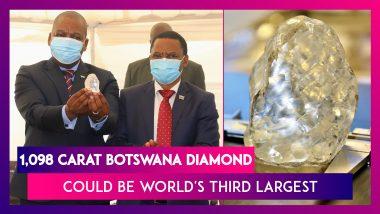 Botswana: 1,098 Carat Gigantic Diamond Could Be World's Third Largest