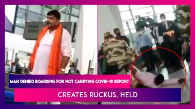 Delhi Airport: Man Walks Onto Conveyor Belt After Being Denied Boarding Over RT-PCR Test Report