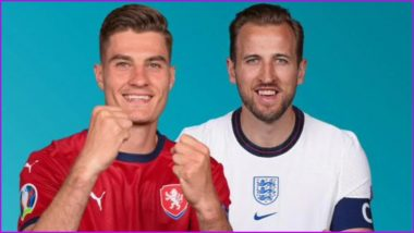 Czech Republic vs England, UEFA Euro 2020 Live Streaming Online & Match Time in IST: How to Get Live Telecast of CZR vs ENG on TV & Free Football Score Updates in India
