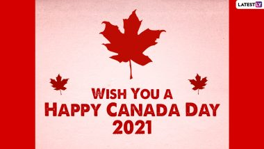 Happy Canada Day 2021 Greetings & Wishes: Quotes, HD Images, Wallpapers, WhatsApp Messages and SMS to Celebrate National Day of Canada