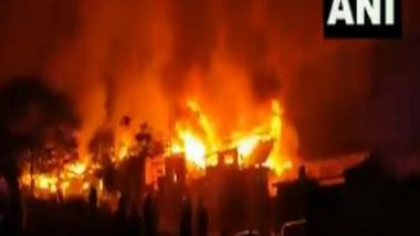 India News | Houses Damaged, Several Injured in Fire in J-K's Baramulla