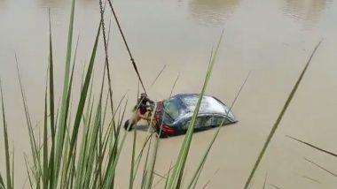 Uttar Pradesh: 2 Bodies in 2 Cars Recovered From Ganga Canal in Muzaffarnagar