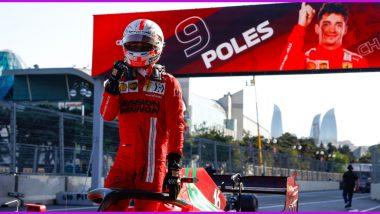 Azerbaijan GP 2021: Charles Leclerc of Ferrari Takes Pole Position, Outraces Lewis Hamilton