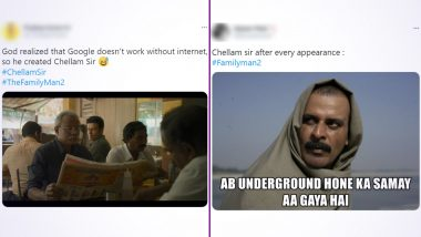 The Family Man 2: Netizens' Flood Twitter with Funny Memes Featuring 'Chellam Sir'