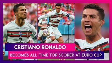 Cristiano Ronaldo Becomes All-Time Top Scorer at Euros During HUN vs POR, Euro 2020 Match