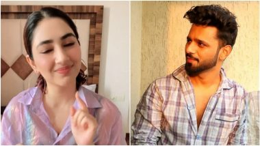 Disha Parmar Mouths This Selena Gomez Dialogue To Prove She Is Not Lazy to Boyfriend Rahul Vaidya, Watch Cute Instagram Reel Video