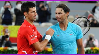 Novak Djokovic vs Rafael Nadal, French Open 2021 Live Streaming Online: How to Watch Free Live Telecast of Men's Singles Semi-Finals Tennis Match in India?