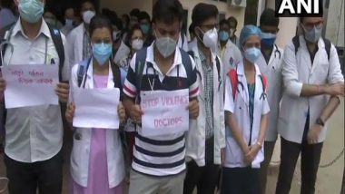 Assam: Doctors Protest in Guwahati Over Assault on Medical Practitioner in Hojai