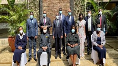 External Affairs Minister S Jaishankar Holds Ministerial Roundtable Meet With Kenyan Ministers