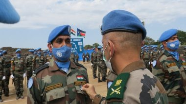 135 Indian Peacekeepers Receive UN Medals For Outstanding Service In South Sudan