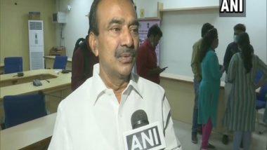 Etela Rajender, Former Telangana Minister, Resigns from TRS