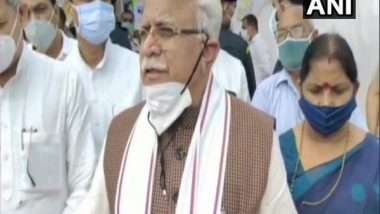 World Environment Day 2021: Haryana CM Manohar Lal Khattar Announces To Create 'Oxi-Van', 80 Acres of Forest To Come Up in Karnal Under the Project