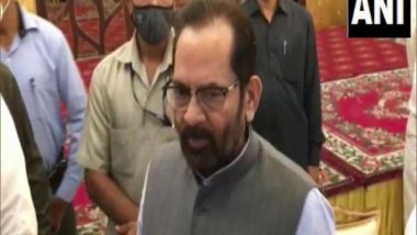 'Hajj 2021 Will Depend on Saudi Arabia Govt's Decision', Says Minority Affairs Minister Mukhtar Abbas Naqvi