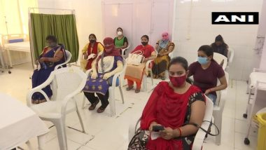Yogi Adityanath Govt Launches Special 'Pink Booths' for Vaccinationg Women in Uttar Pradesh