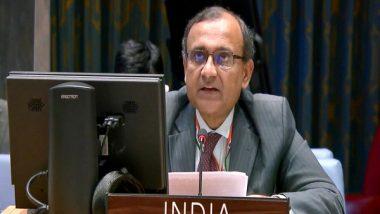World News | India, EU Have Common Interest in Ensuring Security, Prosperity in Multi-polar World: Tirumurti