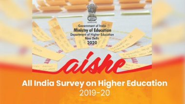 Education Minister Ramesh Pokhriyal Approves Release of Report of All India Survey on Higher Education 2019–20; Student Enrolment Grows by 11.4% From 2015–16 to 2019–20