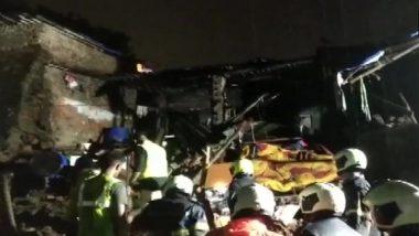Mumbai Building Collapse: One Dead as Three Houses in Lokhandi Chawl Collapse at Dahisar's Shivaji Nagar