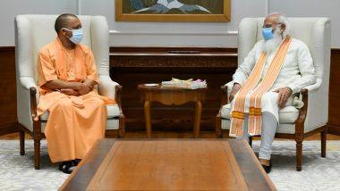 India News | Yogi Adityanath Meets PM Modi in Delhi