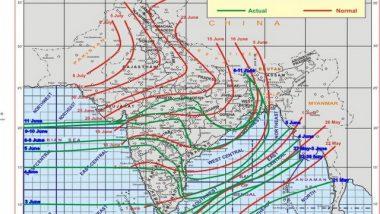 India News | Southwest Monsoon Advances Further into North Arabian Sea, Gujarat, MP, Chhattisgarh