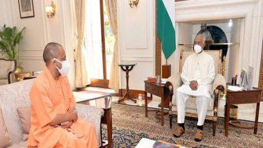 India News | Uttar Pradesh CM Calls on President Kovind in Delhi