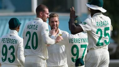 WI vs SA, 1st Test 2021 Match Result: Kagiso Rabada, Quinton de Kock Shine as South Africa Clinch Innings Win Over West Indies in First Test