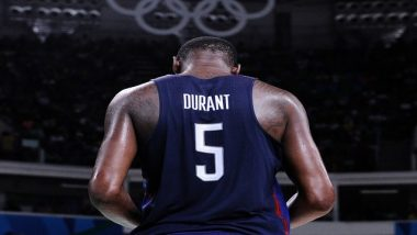 Tokyo Olympics 2020: Kevin Durant To Lead USA Men's Basketball Team