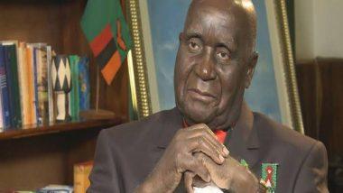 India News   Rahul Gandhi Condoles Demise of Zambia's First President Kenneth Kaunda