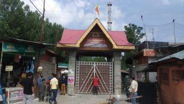 Mata Kheer Bhawani Festival Being Celebrated at Ragnya Devi Deity Shrine on Zyestha Ashtami 2021 Today in Kashmir