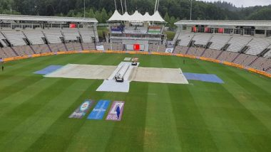 Sports News | WTC Final: Rain Washes out First Session on Day 1 in Southampton