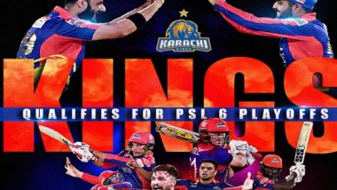 PSL 2021: Danish Aziz's Blitzkrieg Knock Helps Karachi Kings Secure Playoff Berth