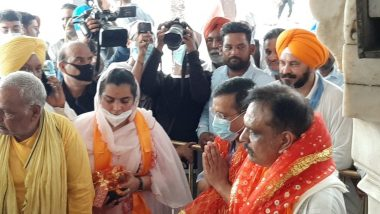 Delhi CM Arvind Kejriwal Offers Prayers at Golden Temple in Amritsar Ahead of Punjab Assembly Elections 2022