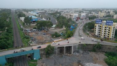 Indian Railways Completes Valsad Road Over Bridge on Dedicated Freight Corridor in Record 20 Days Despite COVID-19 Challenges