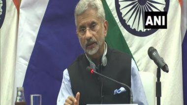 EAM S Jaishankar To Address UNSC Debate on Afghanistan Today