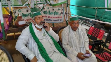 Rakesh Tikait Arrested? Farmer Leader Debunks Fake News of His Arrest, Says 'Am at Ghazipur Border'