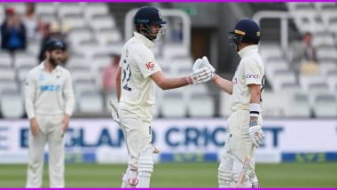 ENG vs NZ, 1st Test 2021 Day 5 Stat Highlights: Dom Sibley Scores Unbeaten 60 As Match Ends in a Draw