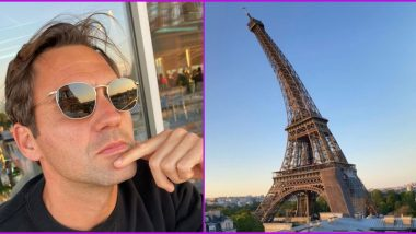 Roger Federer Does a Leonardo DiCaprio! Tennis Ace Shares 'Leaning Eiffel Tower' Pic With Caption 'Currently Living a Scene Out of Inception
