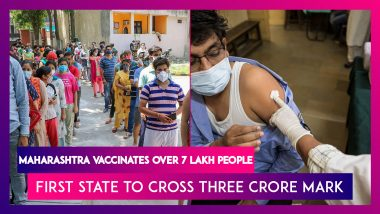 Maharashtra Administers 7 Lakh Covid-19 Vaccines On June 26, First State To Cross Three Crore Vaccination Mark