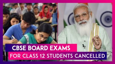 CBSE BOARD EXAMS For Class 12 Students Cancelled, PM Modi Says Safety Of Students Most Important
