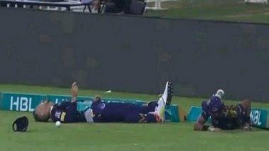 This is Killing Me: Faf Du Plessis' Wife Imari After Husband's Collision in PSL's Quetta Gladiators vs Peshawar Zalmi Match