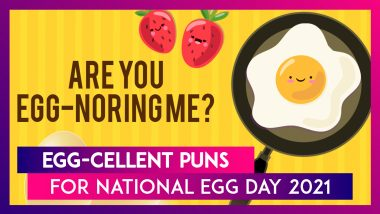 National Egg Day 2021 in United States: These Egg Puns Will Make Egg-Cellent Instagram Captions