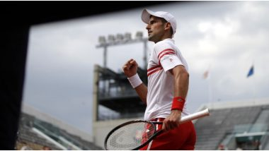 Novak Djokovic vs Lorenzo Mussetti , French Open 2021 Live Streaming Online: How to Watch Free Live Telecast of Men's Singles Tennis Match in India?